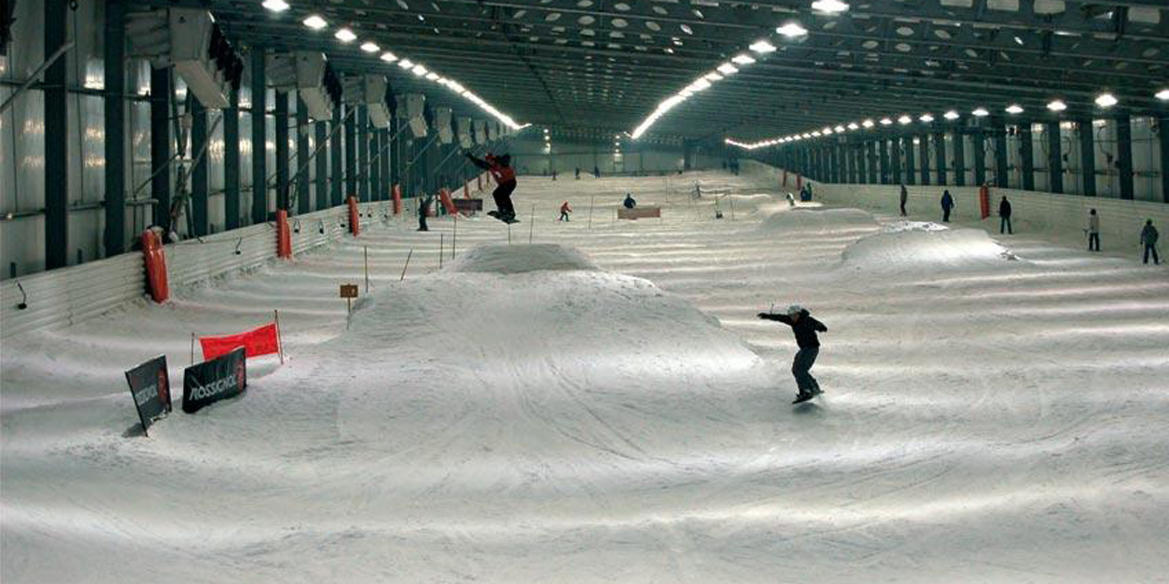piste snowhall