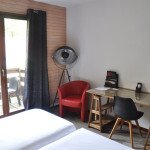Chambre Twin Confort - Hôtel St Eloy