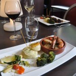 Duo Gambas/St-Jacques - Restaurant Orion