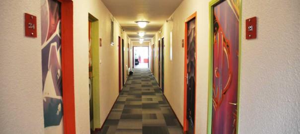 Couloir - Hôtel Orion