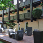 Terrasse - Hôtel Diane